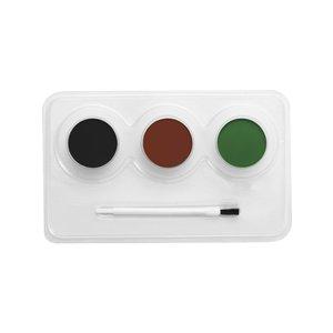 Kamouflage Make-Up kit vattenbaserad ansikts- och kroppsfärg