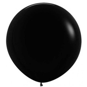 Jätteballong - Svart 80 cm