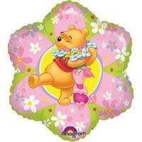 Folieballong - Pooh Friendly Flower 45 cm