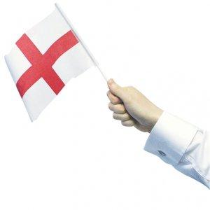 England handflaggor - 12 st