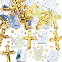 Bordskonfetti med guldkors - 14 g