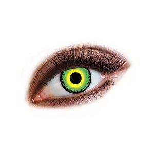 Färgade kontaktlinser - Monstergrön