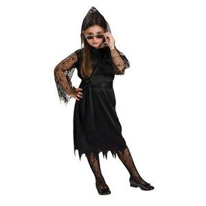 Goth vampyr spets maskeraddräkt