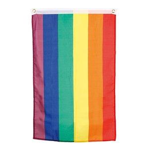 Regnbågsflagga 90 x 150 cm