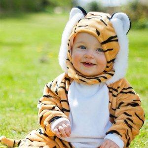 Tiger bebis maskeraddräkt