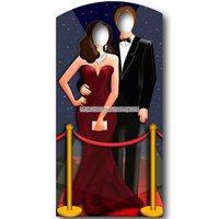 Rödamattan fotoförgrund pappfigur - 186cm