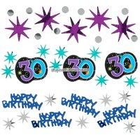 Bordskonfetti till 30-årsdagen - The party continues 34 g