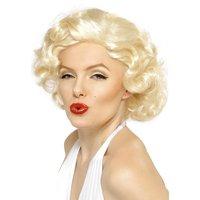 Marilyn Monroe bombnedslag peruk