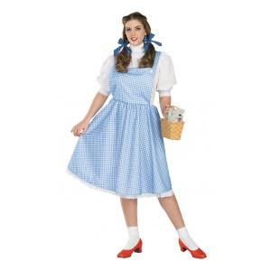 Plus size Dorothy maskeraddräkt