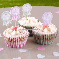 Frills & spills muffins/cupcakepinnar - 20 st