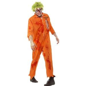 Zombie Death Row Inmate maskeraddräkt