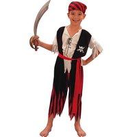 Pirat maskeraddr�kt f�r barn