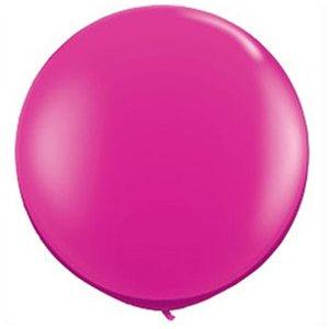 Jätteballong - Magenta 80 cm