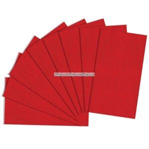 Rött presentpapper - 8 ark
