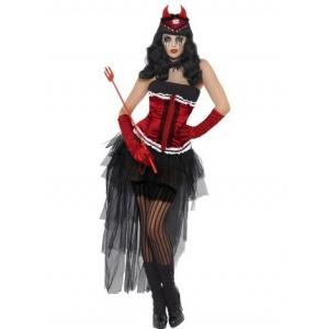 Diva demonique de vil maskeraddräkt