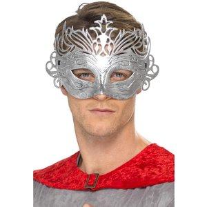 Columbine silver mask