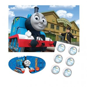Thomas & vännerna spel - fäst belysningen på Thomas