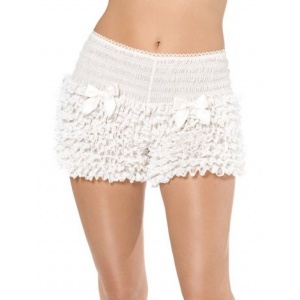 Shorts (mamelucker) volang vit