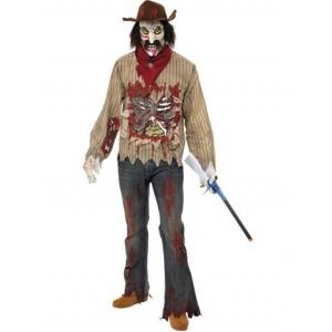 Zombie cowboy maskeraddräkt