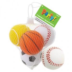 Sportbollar leksak i skumplast - 4 st
