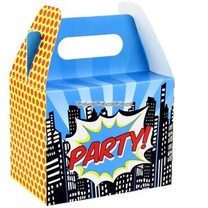Pop Art Superhero Party partybox - 5 st