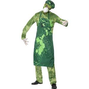 Biologisk katastrof manlig maskeraddräkt