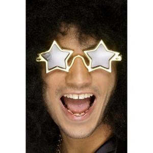 Stjärna glasögon guld