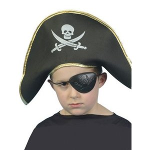 Hatt piratkapten barn i skumgummi