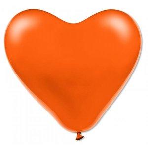 Latexhjärtan - Orange