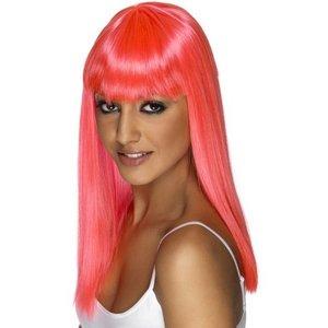 Peruk Glamourama neonrosa