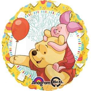 Folieballong - Puh &amp  Nasse Celebration 45 cm