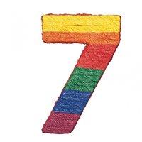 Nummer 7-pinata