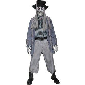 Zombie spökpirat maskeraddräkt