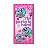 Mimmi Pigg - rosa dörrbanderoll till festen